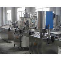 易拉罐果汁饮料包装生产线、豆奶饮料灌装机