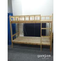合肥优邦厂家定制实木双层床实木单人床上下铺床宿高低 床价格优惠