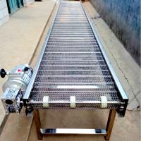 不锈钢食品网带输送机生产厂家实惠可靠 乾德网带输送线