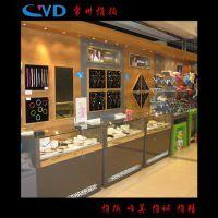 厂家直销免费装修设计珠宝展柜 金银饰品展柜 玻璃展柜