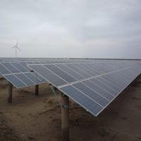 太阳能光伏支架系统渔光互补水泥管桩单立柱热镀锌C型钢