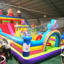 充气城堡 蹦蹦床 儿童滑梯乐园室外内玩具游乐设备