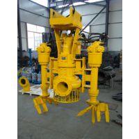 挖掘机液压式耐磨泥浆泵|港口清淤泵|河道泥砂泵