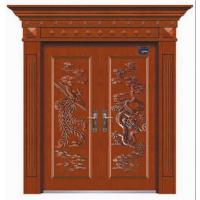 供应庭院大门、仿木铁门工艺门