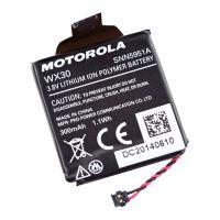 摩托罗拉智能手表代用电池3.7V 300mAh 1.1Wh数码电池 YANLL
