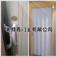 重庆客厅pvc折叠门重庆美特鑫pvc折叠门厂家