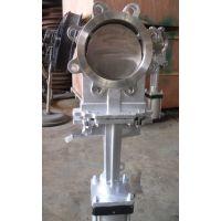 PZ673X/H/F/Y-10C气动插板阀,对夹式刀型插板阀,耐磨插板阀