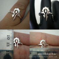 青岛欧美外贸饰品批发部落联盟标志朋克 男女均可佩戴单指环戒指