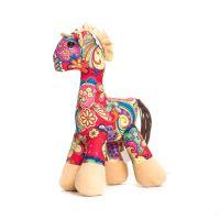 厂家批发创意手工毛绒布艺玩具马公仔婚庆吉祥物儿童节生日礼物