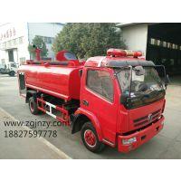 河南郑州厂家直销一车多用的东风6吨消防洒水车