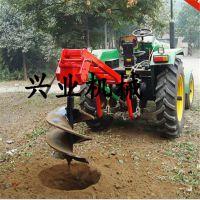 挖坑机价格 打眼钻洞树木种植挖坑机 兴业新款多用途破冰机