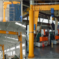 春华直销BZD型2吨小型立柱式旋臂起重机 电动悬臂吊加工定做