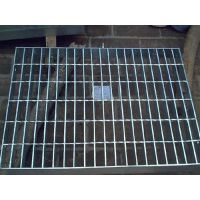 炳辉网业(图)、水沟盖用热镀锌钢格板、热镀锌钢格板