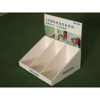 【百度推荐】组装纸台架可拆卸纸台架飞利浦促销台架