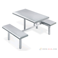 不锈钢餐桌椅-快餐桌椅专业生产厂家