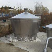 黑龙江液态蒸酒设备全套报价 圣嘉制造封闭式冷却器型号齐全