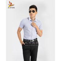 比伦供应上海白领职业装 男式条纹衬衫BL-CS11