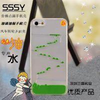 iphone6手机売里的液体SSSY-LD1602贴牌代加工iphone6阶梯油滴手机売填充液
