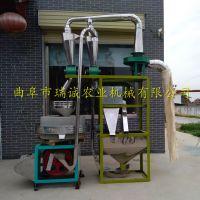 东北小麦面粉石磨机 全自动面粉石磨机 瑞诚自产全自动磨面设备