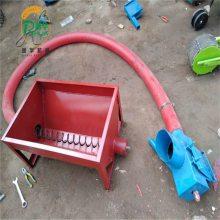 软管螺旋吸粮机 润华 移动式吸麦机 玉米大豆车载抽粮机