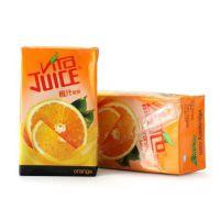 香港进口 维他命 维他香橙汁饮料 250ml*24盒/箱 批发