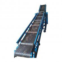 移动充气轮皮带输送机 水平倾斜皮带机订购 设计合理运输量大
