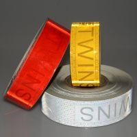 厂家直销新型高强级反光膜 保吸墨 反光带 反光条 可喷绘 高亮