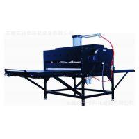 批发供应大型升华热转印机 气动双工位烫画机 服装面料印花机