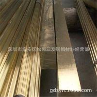 镀锡H62;H65环保黄铜排 圆角黄铜排生产厂 长度1-60米非标定做