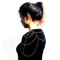 2014新款  性感女式背链装饰身体链C0134