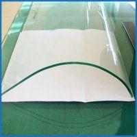 厂家大量供应弯钢化玻璃 钢化磨砂玻璃 可按需定制生产