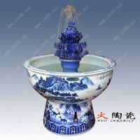 陶瓷喷泉定做厂家 装饰品景观陶瓷喷泉价格