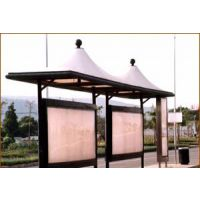 贵州公交站台膜结构,候车亭张拉膜,火车站台,游轮张拉膜