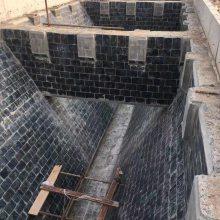 原煤仓内衬压延微晶板粘贴工程采用环氧树脂胶泥连接牢固-筒仓内衬粘接铸石板呋喃胶泥施工
