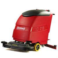 供应克力威全自动洗地机XD213 大型双刷盘工业用洗地吸干机 多功能擦地洗地机