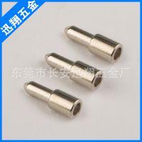 专业生产 金黄色空心钢钉 尖头镀金不锈钢钢钉