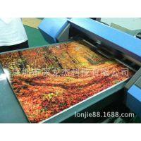 艺术画打印机 怛诚伟业万能平板打印机 创业设备木版画彩印机