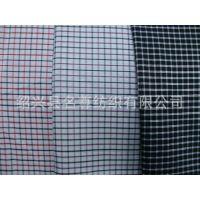 厂家现货供应银丝色织格子布,银丝衬衣面料,色织格子装饰布
