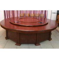 实木电动火锅餐桌 亚卫品牌实木餐桌 商用电动桌子价位