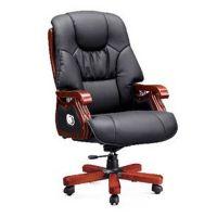 东莞办公家具-真皮大班椅定制-人体工学老板椅-港歌东莞椅子厂价直销