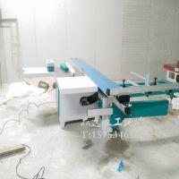 厂家直销精密裁板锯 木工推台锯 板材多片锯
