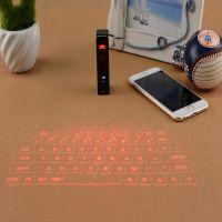 厂家批发哨鸟KB320蓝牙镭射激光投影键盘带鼠标功能小体积大作为