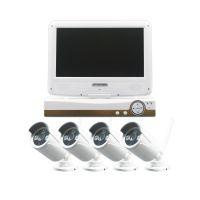 朗普LANGPOO-无线10寸带屏监控器套装 4路100万像素高清网络摄像机