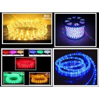 甘肃造型LED元二线灯带七彩色--现货批发