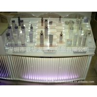 大量销售有机玻璃展示架 有机玻璃化妆品展示架