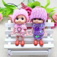 韩国可爱迷糊娃娃手机钥匙挂件  毛绒挂件