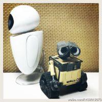 新声动漫 迪斯尼 Wall.E 机器人总动员 瓦力机器人8CM 伊娃