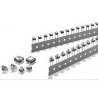 供应OMRON 黄色柱塞按键轻触开关B3F-1002 6乘6方形