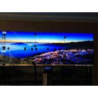 55寸三星液晶拼接屏用于宜清农商银行大屏幕显示