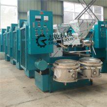 榨油机 新型多功能螺旋榨油设备 大豆菜籽商用 志乾厂家直供